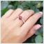 แหวนโกเมน เงินแท้ ชุบทองคำขาว thumbnail 5