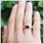 แหวนโกเมนแท้ ทรงสี่เหลี่ยม เพิ่มความมั่นใจ thumbnail 4