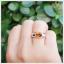 แหวนซิทรินแท้ ดีไซน์เรียบๆ แต่มีสไตล์ thumbnail 5