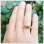 แหวนซิทรินแท้ ดีไซน์เรียบๆ แต่มีสไตล์ thumbnail 4
