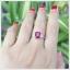 แหวนทับทิมแท้ แหวนพลอยทับทิม แหวนพลอยสวยๆ thumbnail 5