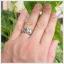 แหวนคริโซเบริล ตาแมว เงินแท้925 ชุบทองคำขาว เสริมอำนาจบารมีน่าเกรงขาม thumbnail 5