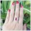 แหวนทับทิมแท้ แหวนพลอยทับทิม แหวนพลอยสวยๆ thumbnail 4