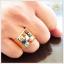 แหวนพลอยนพเก้า ทองแท้ เพชรแท้ (สามารถสั่งทำได้ค่ะ) thumbnail 6