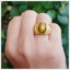 แหวนตาเสือ เงินแท้ ชุบทองคำ โดดเด่นสะดุดตา thumbnail 5