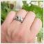 แหวนคริโซเบริล ตาแมว เงินแท้925 ชุบทองคำขาว เสริมอำนาจบารมีน่าเกรงขาม thumbnail 4
