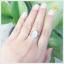 แหวนมูนสโตน แหวนมุกดาหารแท้ เรียบๆ หรู ดูมีสไตล์ thumbnail 5