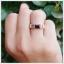 แหวนโกเมนแท้ ทรงสี่เหลี่ยม เพิ่มความมั่นใจ thumbnail 5