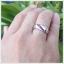 แหวนทับทิมพม่า เงินแท้ ชุบทองคำขาว thumbnail 5
