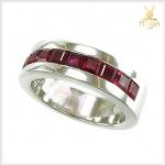 แหวนทับทิมไทย สีเลือดนก เพิ่มอำนาจบารมี ความมั่นใจ
