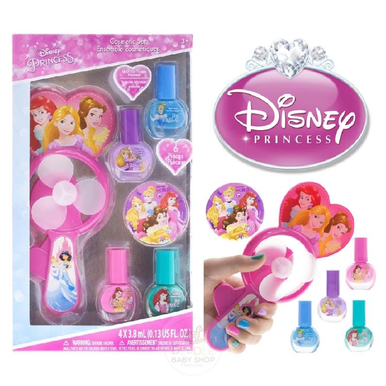 ชุดสีทาเล็บพร้อมพัดลมเป่าแห้งสำหรับเด็ก TownleyGirl Disney Princess Nail