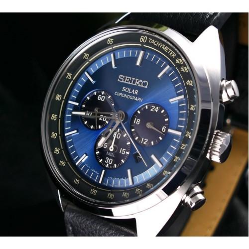 finest selection 6056c 7a291 Seiko Solar Chronograph Tachymeter SSC625P1 Men's Watch